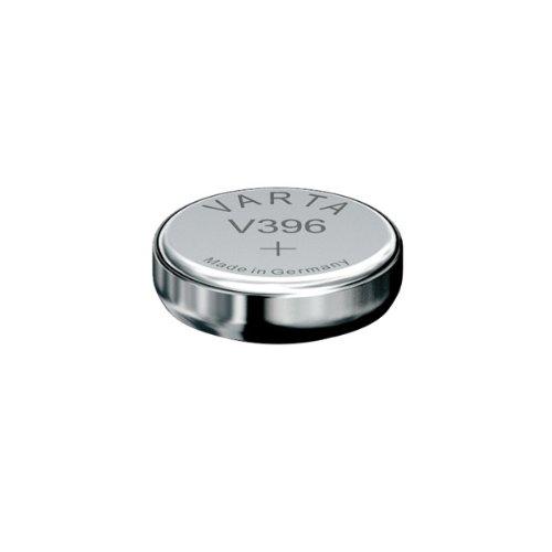 Piles de montre Varta,Type: V396 Voltage: 1.55V Taille: 2,6 mm Diamètre: 7,9 mm blister PDA point