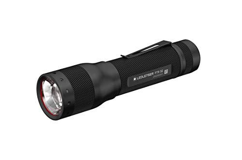 Ledlenser P7R SE LED Taschenlampe, fokussierbar, wiederaufladbar, mit 18650 Akku, 1100 Lumen, 220 Meter Leuchtweite, 40 Stunden Leuchtdauer