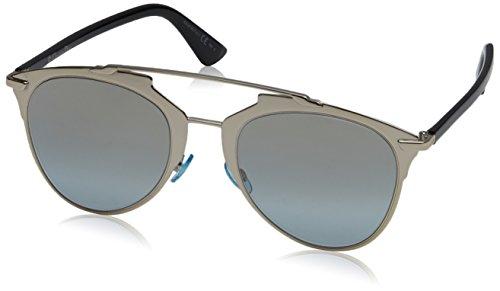 Dior DIORREFLECTED 0H EEI Gafas de sol, Dorado (Light Gold Black/Gold Sf Azure), 52 para Mujer