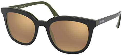 Prada Sonnenbrille (PR 03XS) Top Black/Green 53 cm