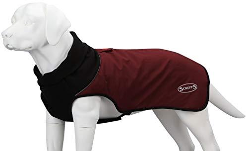 Scruffs Thermo-Hundemantel, gesteppt, Größe M, 320 g, Burgunderrot