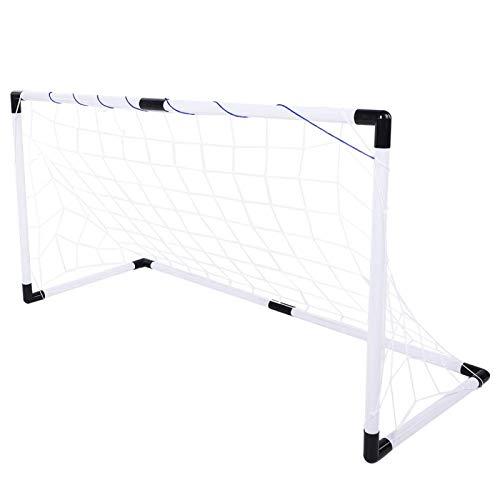 DAUERHAFT Portería de fútbol de Nylon Ligera de la Puerta de fútbol Portería de fútbol no tóxica para Interiores para niños