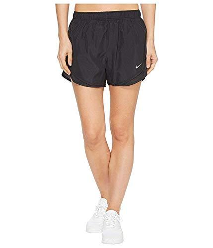 Nike Women's Dri-fit Tempo Track 3.5 Short (Black/Black/Wolf Grey, Medium)