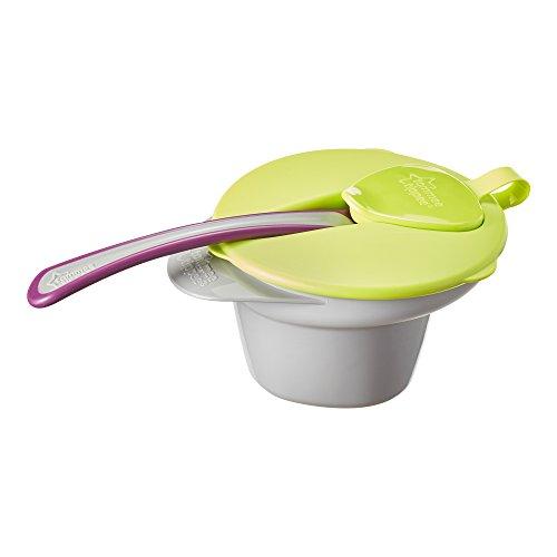 Tommee Tippee Explora - Bol con tapa y cuchara, 1 unidad [colores surtidos]