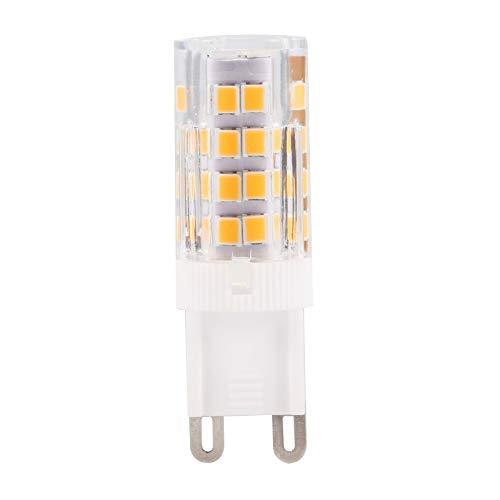 Bombilla LED G9 Bombilla de luz de cerámica 3.5W Bin-Pin Base 310LM Bombilla de lámpara para lámpara de Sala de Estar de Dormitorio