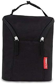 Skip Hop SH-565 Grab and Go Double Bottle Bag (Black)