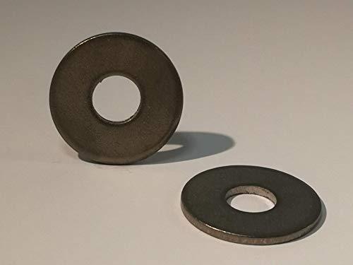 Arandela grande de titanio DIN 9021 Titanio Grade 2 (5 x M6)