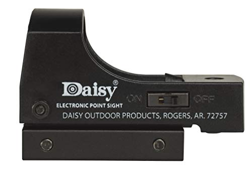 Daisy Electronic Red Dot Point Sight, Black, 3/8 Inch