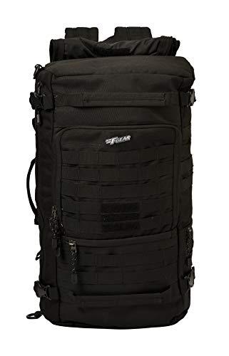 F Gear Military Garrison 36 Liters Side Opening Rucksack Backpack (Black)