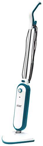 Russell Hobbs RHSM1001-G Steam and Clean Steam Mop White & Aqua - Free 2 year guarantee