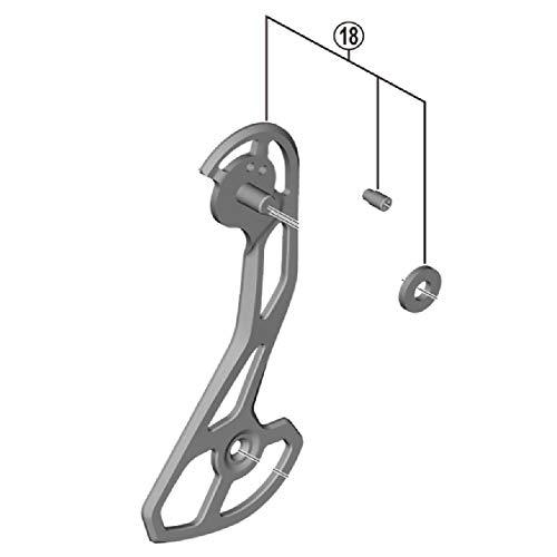 CYCLING_EQUIPMENT Portapoleas Exterior GS RD-RX810-GS, Adultos Unisex, Negro (Negro), Talla Única