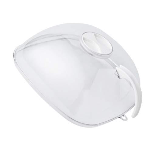 DOITOOL Cubierta de tienda de alimentos cúpula Protector de pantalla de alimentos Fly Cake Display Cover Round Cake Dome Cover Bell Jar para uso interior exterior