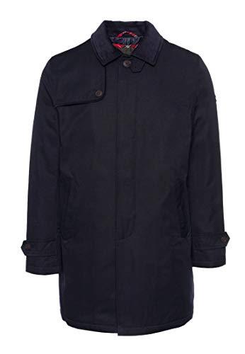 Merc Mens London 3/4 lunghezza Mac giacca/cappotto Lidgard - blu navy blu navy M