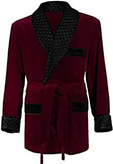 Best double breasted velvet smoking jacket Reviews
