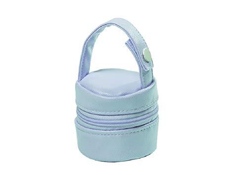 Gamberritos Portachupete Premium Bebé para Chupetes, Caja Portachupetes Portátil, Funda para Chupetes (Azul)