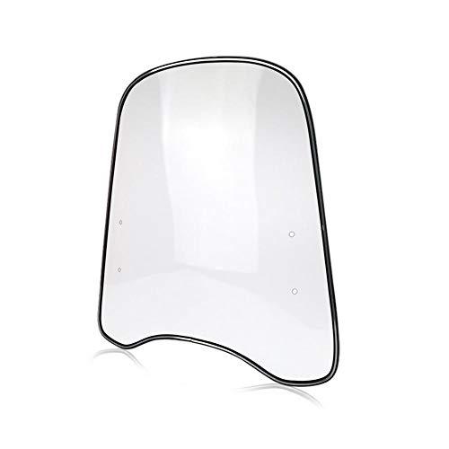 Loveinwinter Universal Motorrad-Windschutzscheibe, 42,5 46 cm, verbessert die Windschutzscheibe, für Motorräder, Elektroautos, Roller