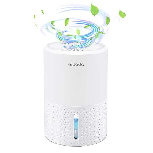 Luftentfeuchter, Aidodo 900ML mini elektrischer raumentfeuchter automatischer entfeuchter leise Dehumidifier für Schmutz und Schimmel zu Hause, Schlafzimmer, Kellerräume, Schrank, Wohnwagen, Büro