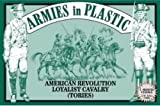 American Revolution Loyalist Cavalry (Tories) (5 Mounted) 1/32 Armies in Plastic by Armies in Plastic