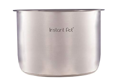 Instant Pot 3 3 Qt Pot, 3 Quart, Stainless Steel, acero inoxidable, acero inoxidable, 8 Quart