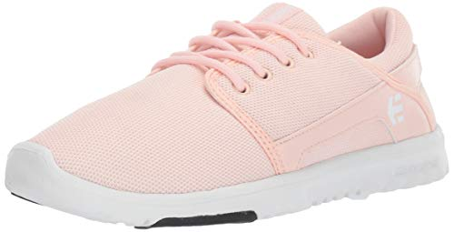 Etnies Women's Scout W's Skate Shoe, Pink/Black, 7 Medium US