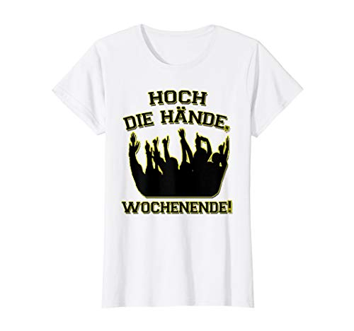 Damen Hoch Die Hände Wochenende T-Shirt