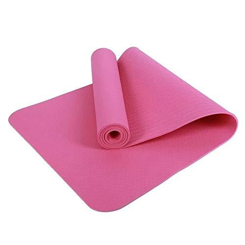 N / A 183CM * 80CM * 6MM Yoga Más Largo TPE Esterilla Yoga Estera de Ejercicio Cómodo Antideslizante Perder Ejercicio Estera de Yoga 183x80x0.6CM