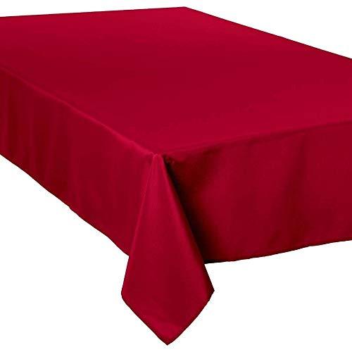 Nappe anti-tache rectangulaire rouge 150x300 cm