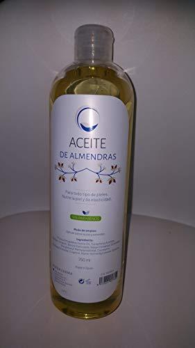 Aceite Puro de Almendras Dulces - 100% Natural para Humectar Y Equilibrar la Piel - Hidratar el Cabello y todo el Cuerpo - 700 ml