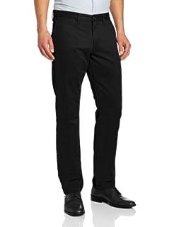 Dockers Men's Modern Khaki Slim Tapered Flat Front Pant, Black, 30W x 32L (B00BCVUB46) | Amazon price tracker / tracking, Amazon price history charts, Amazon price watches, Amazon price drop alerts