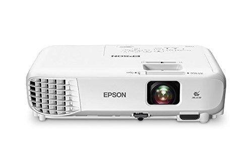 Epson PowerLite Home Cinema 760HD Portable WXGA 720p 3LCD Projector 3300 lumens (Renewed)