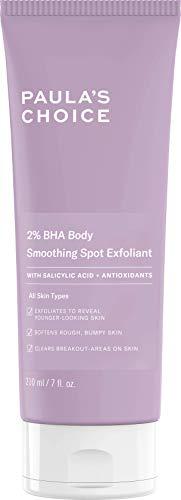 Paula's Choice 2% BHA Exfoliante Corporal - Crema Exfoliante Reduce Espinillas, Imperfecciones y Acne - con Ácido Salicilico & Antioxidantes - Todos Tipos de Piel - 210 ml