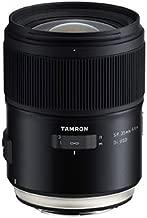 Tamron F045 Uncompromising Tamron 35mm 1.4 Di USD Lense for Canon Camera, Black, Black (TM-F045E)