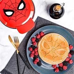 Marvel Spider-Man Waffle Maker -Spidey's Mask on Your Waffles- Waffle Iron