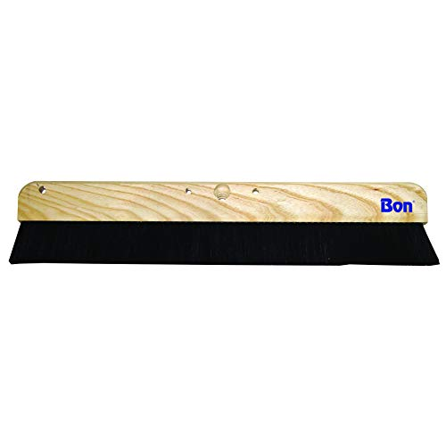 Bon Tool 22-254 36-Inch Soft Horse Hair Concrete Finish Brush