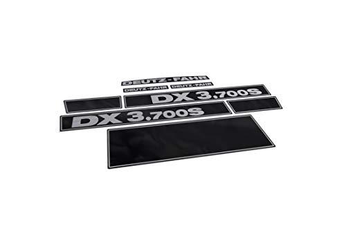 Juego de adhesivos genéricos de DEUTZ FAHR DX 3.700S