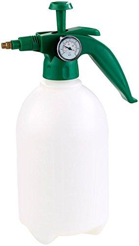 PEARL Wasser Drucksprüher: Universal-Pump-Drucksprüher mit Manometer, lösungsmittelfest, 2 l (Pumpdruck Wasser Zerstäuber)
