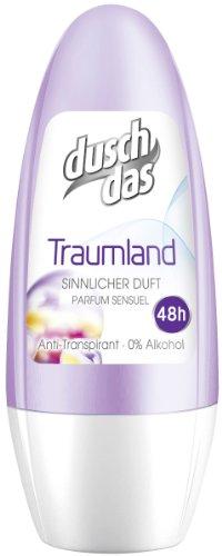 Duschdas Deo Roll-On Traumland Anti-transpirant, 6-pack (6 x 50 ml)