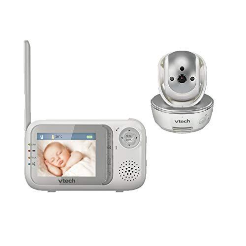 VTech Baby 80-026600 - babymonitor BM 3500, grijs/wit
