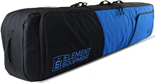 Element Equipment Deluxe Padded Snowboard Bag - Premium High End Travel Bag 157 Blue
