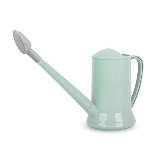 Youlin - Regadera pequeña de plástico para jardín Bonsai (2 L), color verde