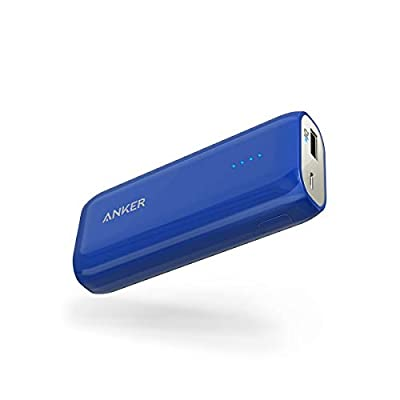 [Upgraded Capacity] Anker Astro E1 6700mAh Ultra-Compact Portable Charger, External Battery with PowerIQ Technology Blue
