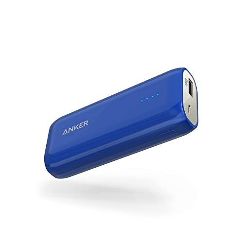 Anker Powerbank Astro E1 6700 mAh Externer Akku, Extrem Kompaktes USB Ladegerät mit PowerIQ für iPhone 7 7+ 6s 6 Plus SE, iPad, Samsung Galaxy und Weitere Smartphone - Blau