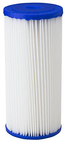 American Plumber W50PEHD Sediment filter, Single Unit, White