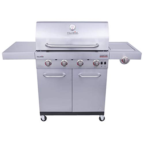top 10 what is the 4 burner gas grill Char-Broil 463255020 Signature TRU Infrared Gas Grill 4 Burner, Stainless Steel