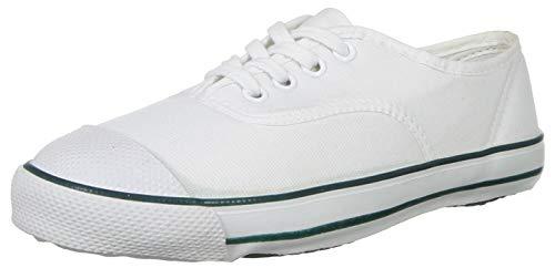 Bata Boys Tennis White School Uniform Shoe-5 UK (4391479)