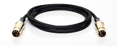 Neutrik 5 Pin Din Midi Cable - Professional MIDI Lead - 0.5m 1m 2m 3m 6m 10m (0.5 Metre)