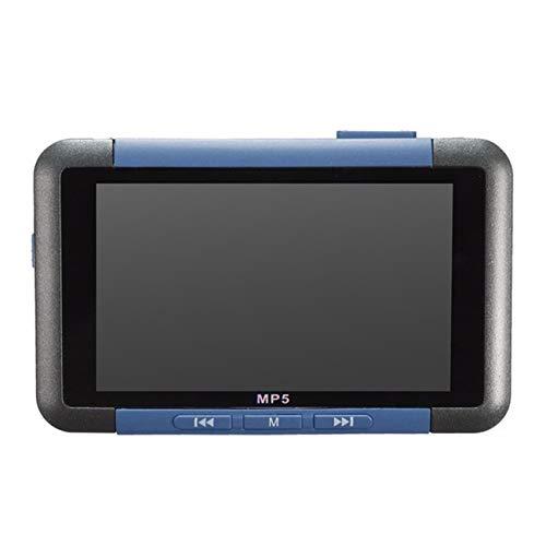 Mp5 3 pollici 8G 16G Slim Lcd Screen Music Video Player Recorder Lettore di e-book Lettore MP5 Lettore radio FM Radio Music (blu)(JIO-T)