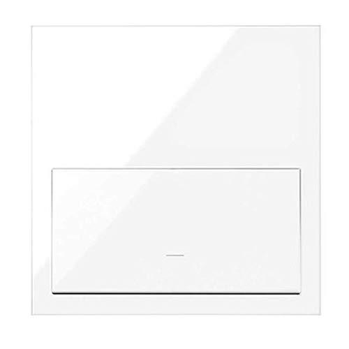 Simon - Kit Front 1 Elemento 1 Tecla Simon 100 10020101-138, blanco