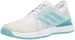 Adizero Parley White and Blue Shoes
