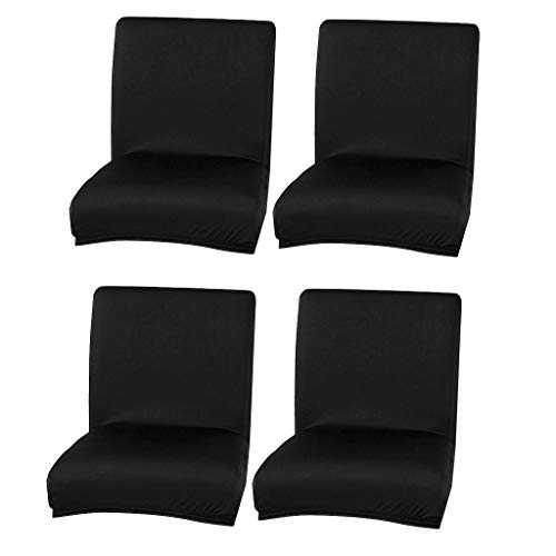 #N/a 4pack Universal Soft Dining Chair Cover Elástico Banquete Bar Taburete Funda